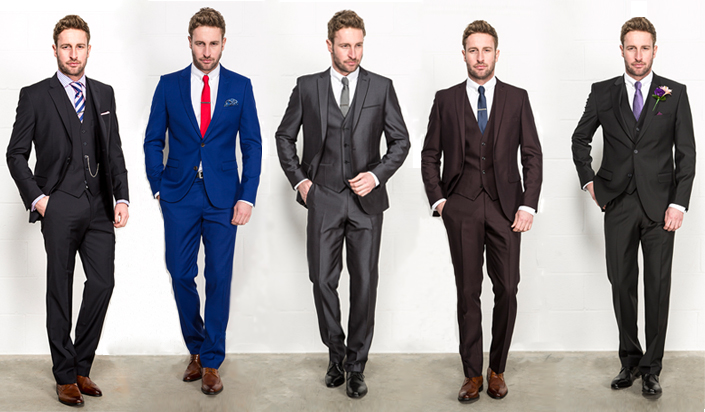 The Top 5 Colors For Your Custom Suit